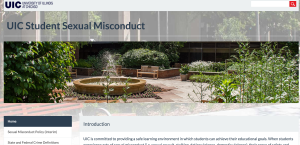 UIC Sexual Misconduct